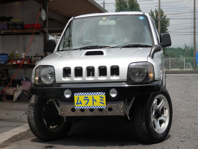 スズキ XL 5速マニュアル 4WD ターボ 社外アルミ マフラー