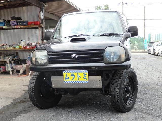 スズキ XG 4WD インタークーラーターボ  社外マフラー