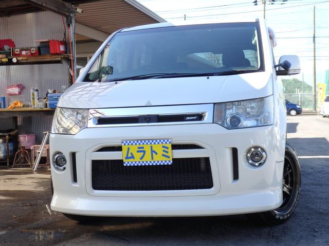 三菱 ローデスト G プレミアム 4WD ロックフォードサウンド