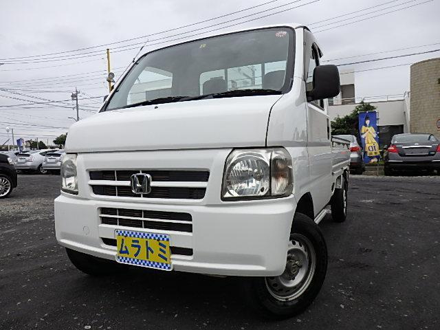 ホンダ アクティトラック アタック 4WD 三方開 5速MT リア作業灯 デフロック