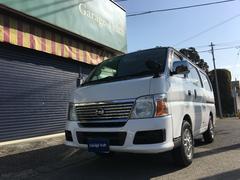 キャラバン車中泊ベット 4WD 5ドア 電動格納ドアミラー キーレス