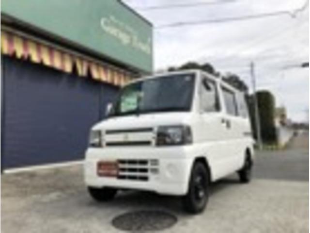 日産 クリッパーバン ETC ポータブルナビ (車検整備付)