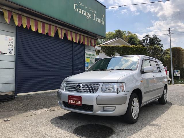 トヨタ サクシードワゴン TX Gパッケージ ナビ キーレス ETC