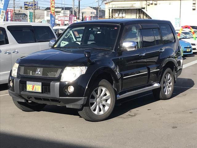 三菱 ロング スーパーエクシード 黒革電動シート 1オーナー