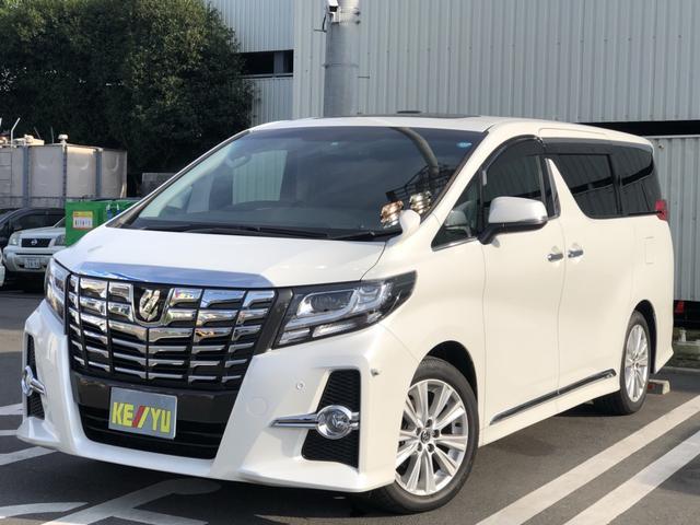 トヨタ 2.5S Aパッケージ 10型ナビ 後席モニタ- サンル-フ