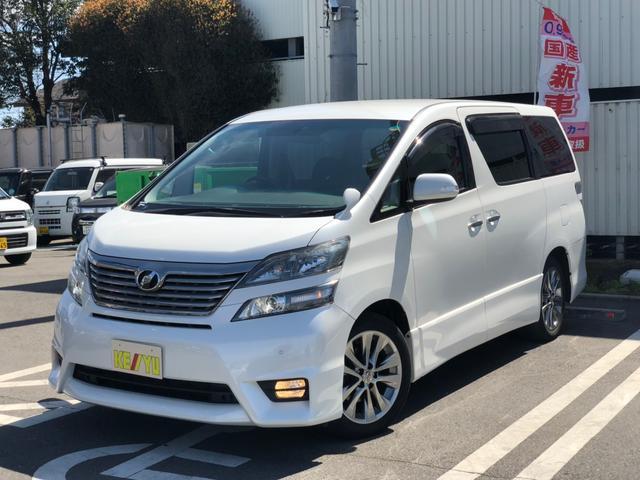 トヨタ 2.4Z プラチナセレクションHDDナビDVD地デジ両側自動