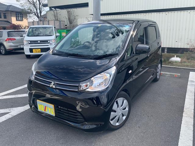 三菱 eKワゴン M禁煙車アイドリングSTOP SDナビCD地デジ ローダウン
