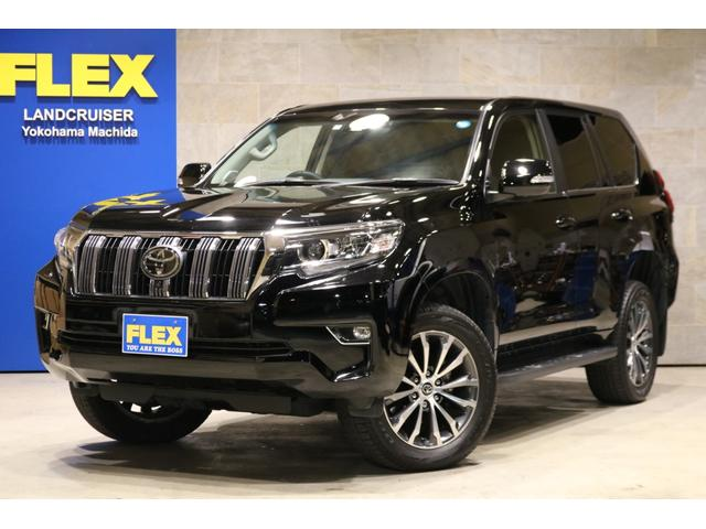 TOYOTA LAND CRUISER PRADO TX L PACKAGE | 2017 | BLACK