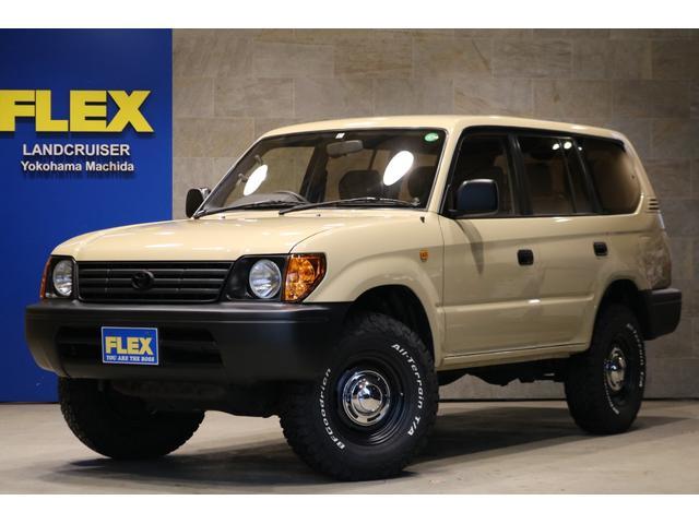 トヨタ ランドクルーザープラド TX ベージュ全塗装 丸目換装&ナローボディー