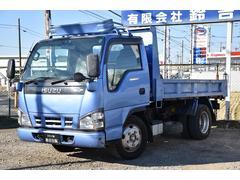 エルフトラック強化フルフラットローダンプ 2t 5MT ETC