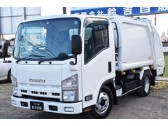 エルフトラック新明和製GPX プレス塵芥車 4.3立米 6MT