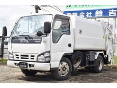 エルフトラック塵芥車 巻き込み ダンプ排出 5MT 5立米 フジマイティ製