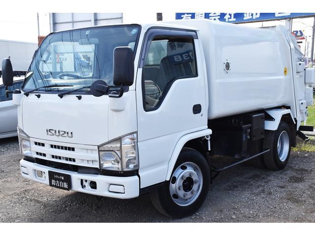 いすゞ  3750kg積 回転ダンプ式 パッカー車 富士重工製 5立米