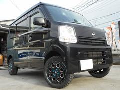 NV100クリッパーバンDX 4WD GLエマージェブレーキ・リフトアップ・AW