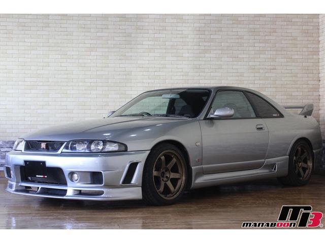 GT-R Vスペック NISMOエアロ(フロント・サイド・リヤ・フェンダーカバー)/HKSフロントパイプ/TEIN車高調/柿本マフラー/ARCインダクションBOX/TE37 18インチ