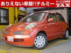 マーチ14e ETC 純正ナビ CD インテリジェントキー