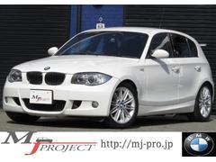 BMW130i Mスポーツ 純正HDDナビ 黒革シートH 禁煙車