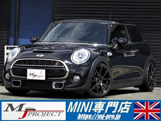 MINI クーパーS 車高調 18AW タイヤ新品 JCWリヤスポ