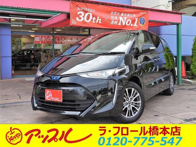 トヨタ アエラス プレミアム ムーンR 後席M ETC2.0