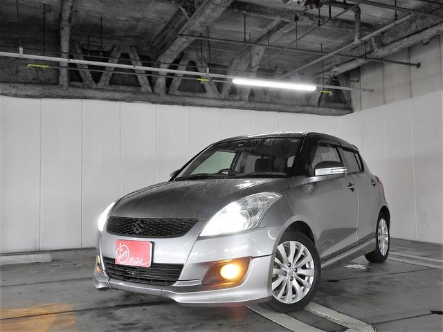 スズキ RS 1オーナー車 SDナビ フルセグTV HIDライト ETC 禁煙車 プッシュスタート スマートキー 純正AW