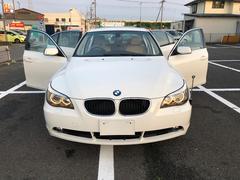 BMW530i ベージュレザー サンルーフ ETC ナビ 禁煙車