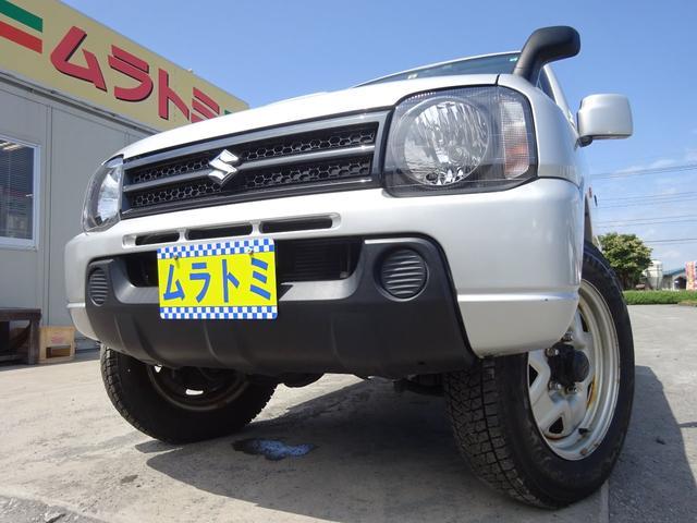 スズキ XG 4WD 5MT車 7型 ターボ 社外CDデッキ ETC 背面タイヤ キーレスキー ヘッドライトレベライザー ABS 16インチホイール Wエアバック 取説・整備手帳