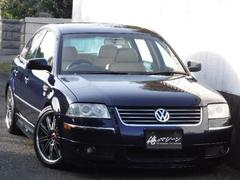 VW パサートV6 4モーション エアロ・革・SR・HDD・TV・車高調