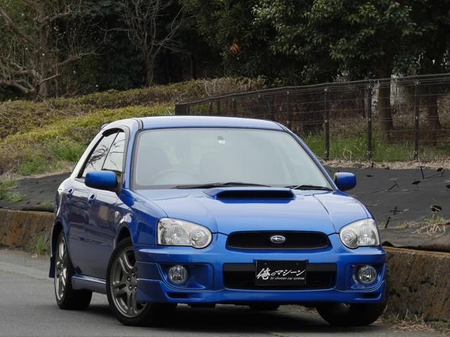 スバル WRX 5速MT WRブルー フルエアロ マフラ Bカメ