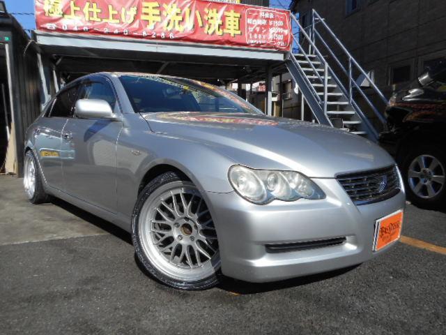 トヨタ 250G 純正ナビ Bカメラ 社外アルミ タナベ車高調