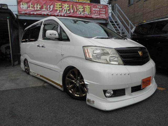 トヨタ MS 純正ナビ BOLDエアサス ETC 社外シートカバー