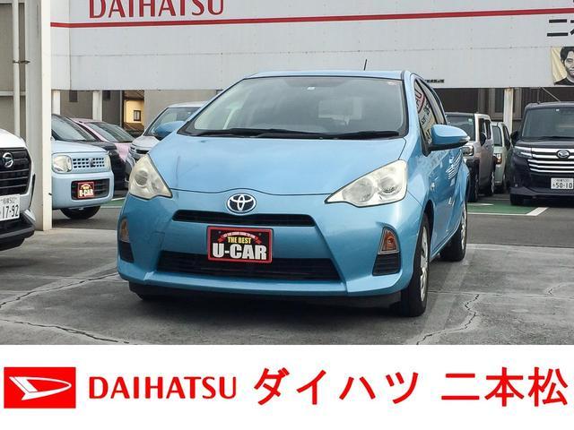 トヨタ S ナビ TV バックカメラ ワンオーナー ECOモード EVモード