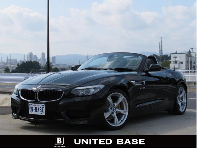 BMW sDrive23i MスポーツPKG 1オーナー禁煙車 フル電動トップ 純正フルエアロ 専用18インチAW 純正バイキセノンンヘッドライト 黒革 レザー シートH メモリーパワーシート 純正HDDナビ 地デジ ETC