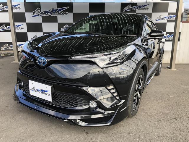 トヨタ G ワンオーナー LED付きフルエアロ カスタムダブルシーケンシャルウインカー LEDヘッドライト 純正9インチナビ バックカメラ 純正アルミ セーフティーセンス ETC