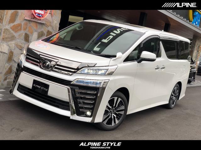 トヨタ 2.5Z Gエディション アルパイン BIG-Xナビ