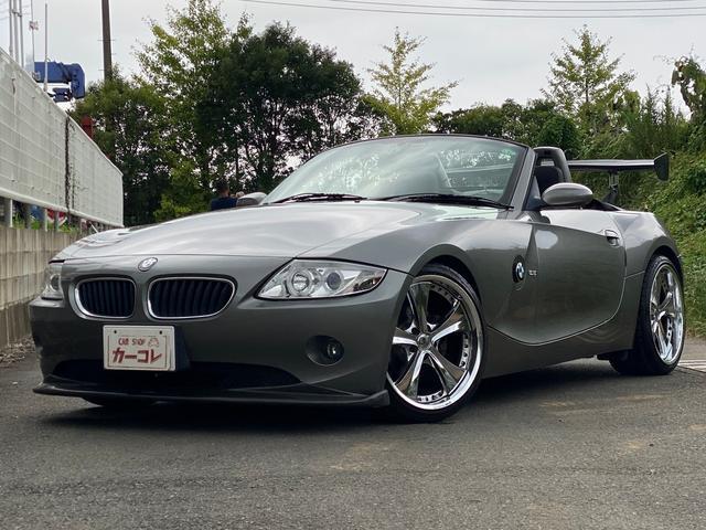 BMW Z4 2.2i セミAT 記録簿 電動オープン 社外アルミ 社外マフラー ETC ドラレコ キーレス エアコン パワステ パワーウィンドウ 運転席助手席エアバッグ ABS