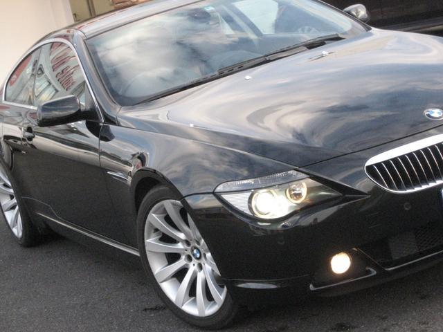 BMW 650i中期型サンルーフ 赤革シート 367PS ETC付き