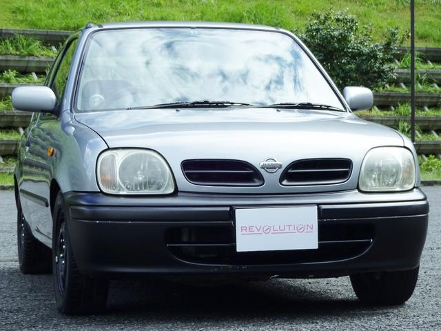 日産 コレット-fタイミングチェーン車高調マフラーバケットタコメ