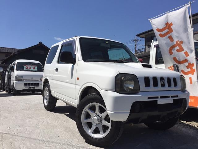 スズキ XA 4WD タイヤ4本交換付き 4AT