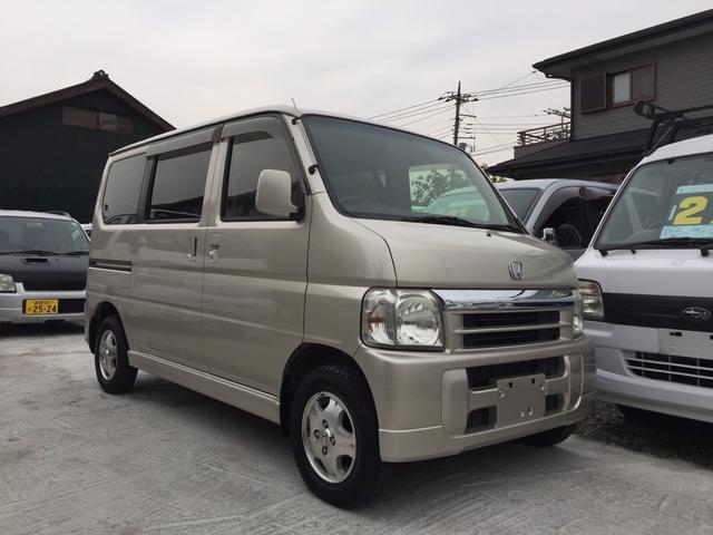 ホンダ バモス L 4WD 4速オートマ ETC付