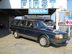 ボルボ240クラシックワゴン 200台限定車 ベージュ革シート