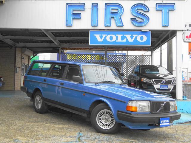 ボルボ 240タックワゴン 最終モデル限定車 ABS エアバック
