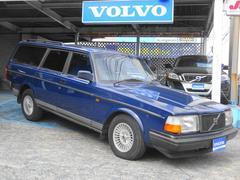 ボルボ240クラシックワゴン 最終モデル限定車 革シート