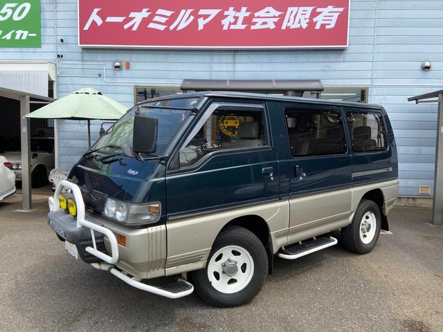 三菱 GLX Fガードフォグサイドステップ1オーナーガソリン車
