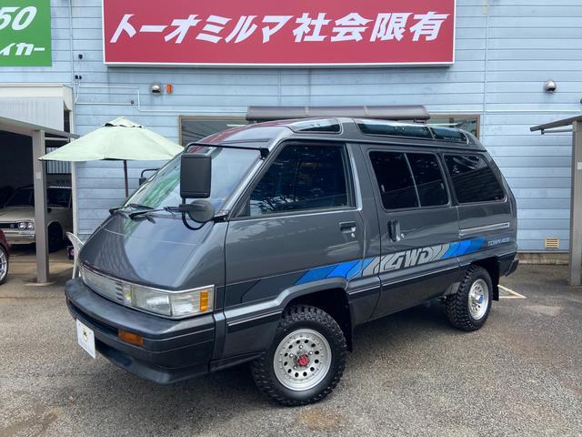 トヨタ スーパーエクストラ 4WDスカイライトルーフCOOL&HOTボックス社外14AWガソリン車
