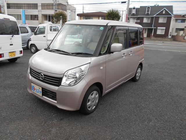 日産 E TVナビETC プッシュスタート 軽自動車