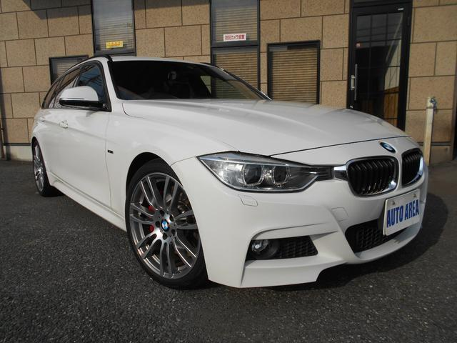 BMW 328iツーリング Mスポーツ 電動Rゲート パドルシフト