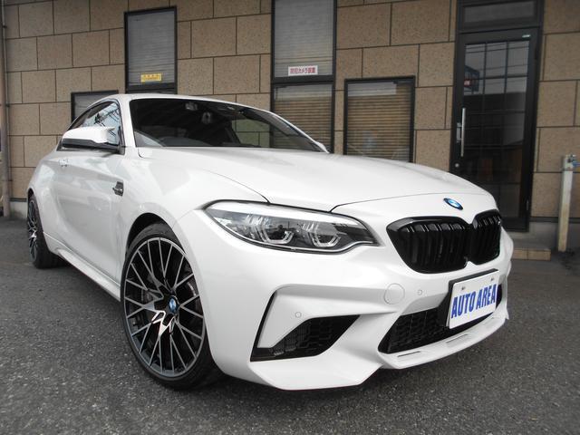 BMW M2 コンペティション 本革 ワンオーナー 19インチAW