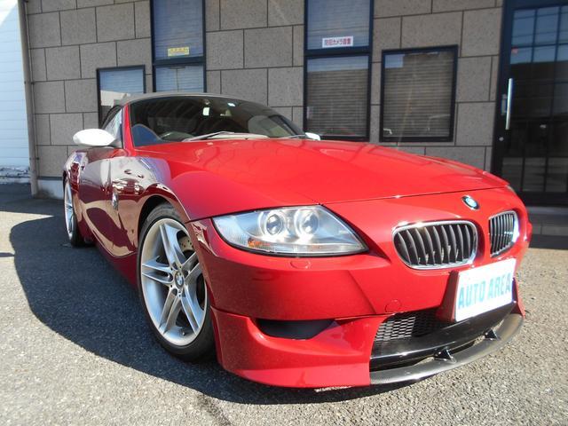 BMW Z4 Mロードスター 本革 パワーシート シートヒーター付  6速マニュアル車 社外ダウンサス