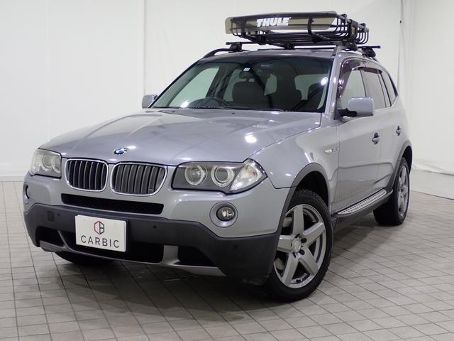 BMW X3 3.0si サンルーフレザーシート Bカメラ ルーフキャリア
