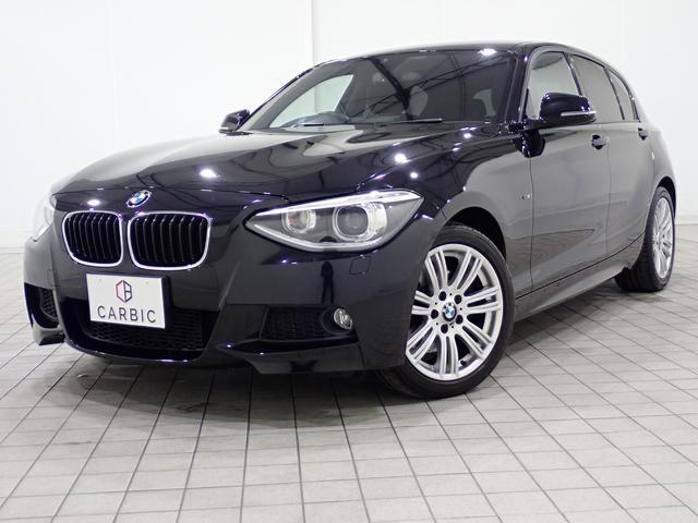 BMW 1シリーズ 116i Mスポーツ 純正ナビ TV バックカメラ クルーズコントロール コーナーセンサー 純正17インチAW プロジェクターHIDヘッドライト Mスポーツパッケージ Rパークディスタンスコントロール